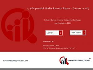 1, 3-Propanediol Market 2018: Size, Competitors Strategy, Regional Analysis and Growth by Forecast to 2023