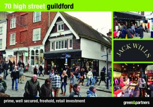70 high street guildford