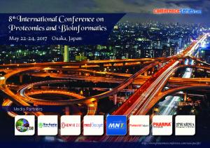8th International Conference on Proteomics and