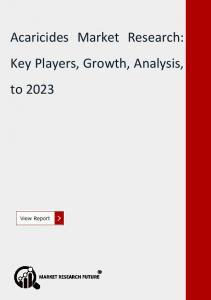 Acaricides Market Research Report- Forecast till 2023