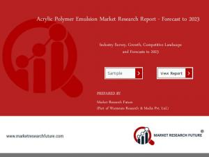 Acrylic Polymer Emulsion Market 2018 | Global Size, Segments, Growth and Trends by Forecast to 2023