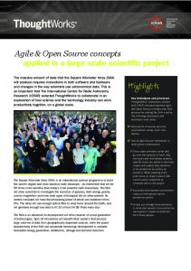 Agile & Open Source concepts - Fileburst