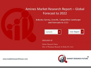 Amines Market Bound To Make an Impact In Your Business During 2018 to 2023