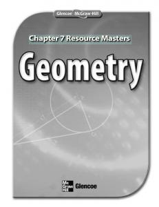 Chapter 7 Resource Masters