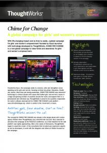Chime for Change - Fileburst