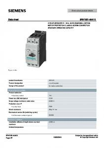 Data sheet 3RV1031-4AA10
