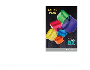 eating plan - The Fit Habit
