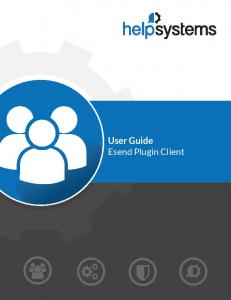 Esend User Guide.book