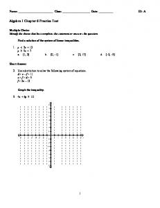 ExamView - Chapter 6 Practice Test.tst