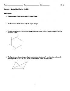 ExamView - Spring Final Review (2014).tst