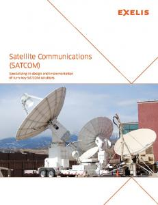 Exelis Satellite Communications (SATCOM)