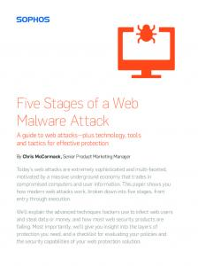 Five Stages of a Web Malware Attack - Sophos