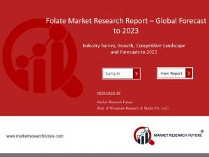 Global Folate Market Size, Share, Outlook & Forecast 2018-2023Global Folate Market Size, Share, Outlook & Forecast 2018-2023