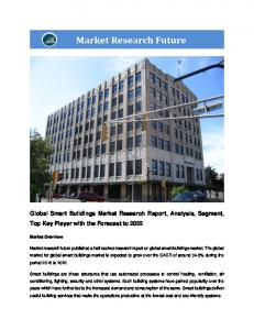 Global Smart Building Market Research Report - Forecast to 2022