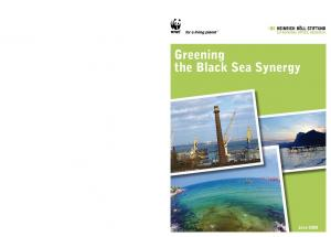 Greening the Black Sea Synergy - WWF