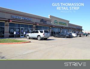 gus thomasson retail strip