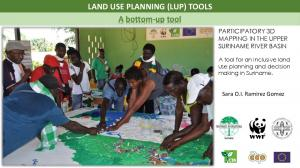 LAND USE PLANNING (LUP) TOOLS A bottom-up tool
