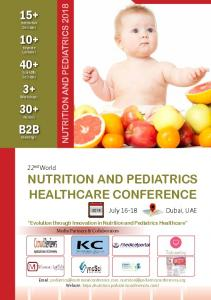 nutrition and pediatrics healthcare conference
