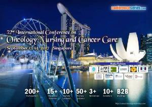 Oncology Nursing and Cancer Care