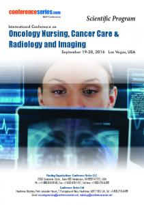 Oncology Nursing, Cancer Care & Radiology and Imaging