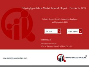 Polyvinylpyrrolidone Market 2018: Company Profiles, Market Segments, Landscape and Demand by Forecast 2023
