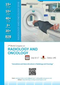 radiology and oncology