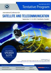 Satellite and Telecommunication