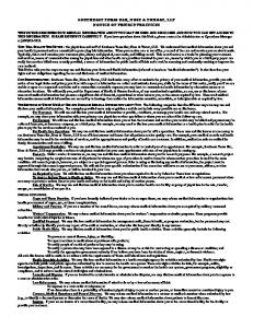 southeast texas ear, nose & throat, llp notice of privacy practices