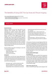 The Benefits of Using CBCT for Ear, Nose and Throat ... - Crasman