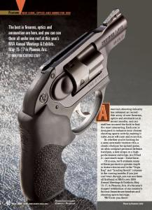 The best in firearms, optics and ammunition are ... - American Rifleman