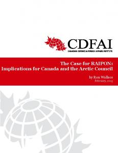 The Case for RAIPON: Implications for Canada and the