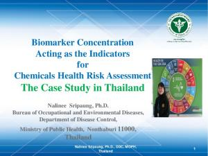 The Case Study in Thailand