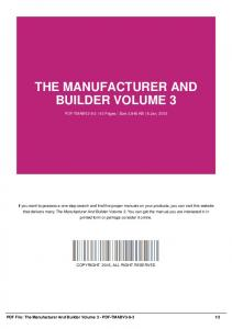 the manufacturer and builder volume 3-pdf-tmabv3-9-3
