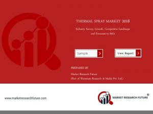 Thermal Spray Market 2018 Global Industry Outlook, Demand, Key Manufacturers and 2023 Forecast Report