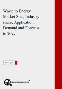 Waste to Energy Market Size, Industry share, Application, Demand and Forecast to 2027