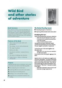 Wild Bird and other stories of adventure - Learning Media